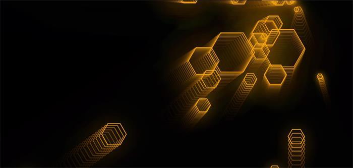 酷炫六边形科技跟随鼠标动态特效源码