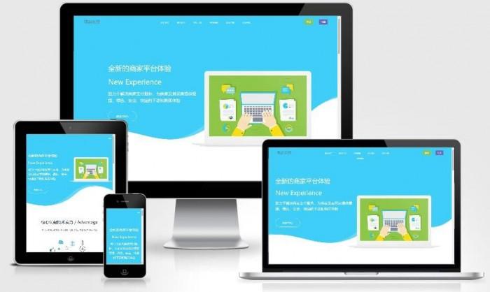 响应式PHP个人即时到账收款平台网站源码+集成各大主流支付接口