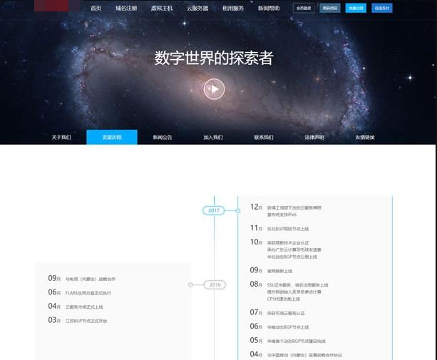 仿鸟云IDC模板 最新修复创梦虚拟主机管理系统+主控模板+鸟云模板源码图片