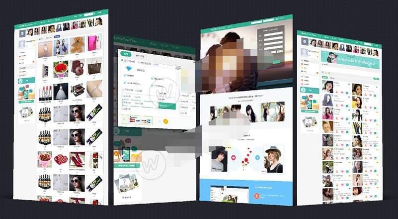 PHP聊天社交网站源码-国际交友营销系统